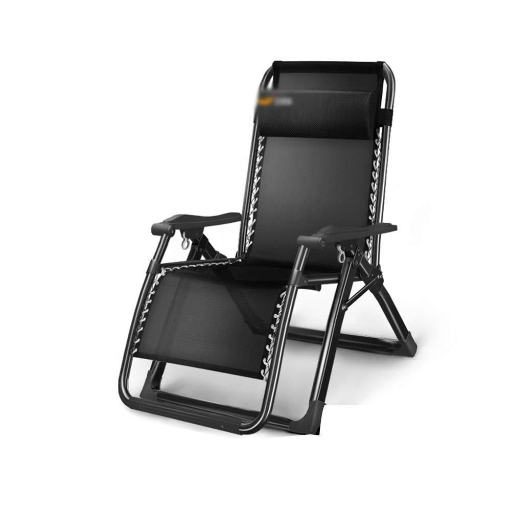 YNN Sedie Sdraio reclinabili Pieghevoli e reclinabili Resistenti alle intemperie 4 Scelte 180x65c40cm (colore   A)