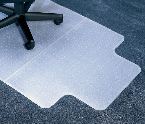 Anchormat Medium Pile Carpet Beveled Edge Chair Mat Size: 45