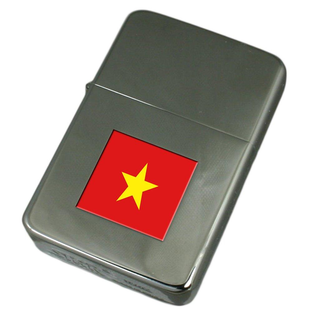 Engraved Lighter Vietnam Flag