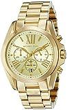Michael Kors Goldtone Bradshaw Chronograph Watch