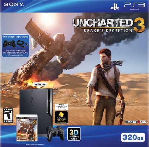 (PS3 320GB Uncharted 3 Bundle)