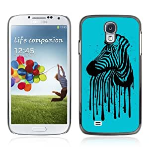 Designer Depo Hard Protection Case for Samsung Galaxy S4 / Cool Zebra Stripes Art by icecream design
