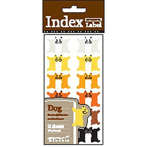 Midori Index Label Dog (83508006)