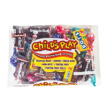 CHILD'S PLAY MIX CANDY 19.2 OZ BAG