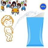 ONEDONE Urine Bag Disposable Travel Collection Pee Bag...