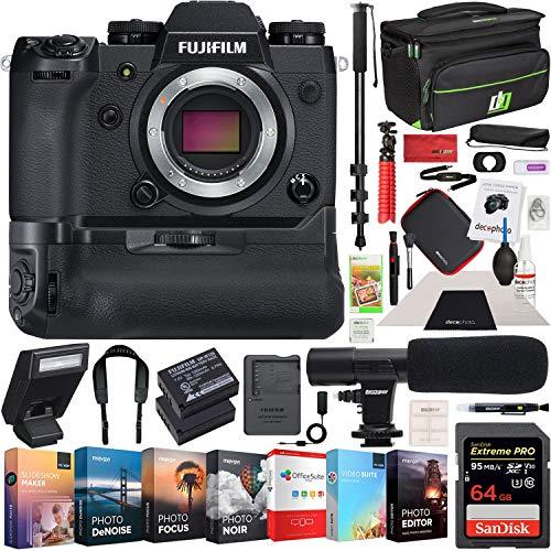 Fujifilm X-H1 Mirrorless Digital Camera with VPB-XH1 Vertica