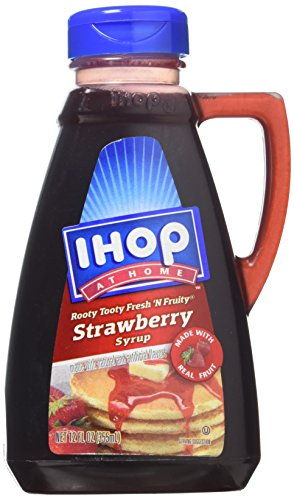 Ihop At Home Strawberry Syrup 12oz by IHOP at Home