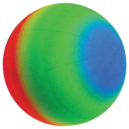 US Toy (GS832) One Rainbow Playground Ball 18 Inches