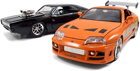 Fast & Furious Die-Cast Vehicle 2-Pack 68 Dodge Charger Street ...