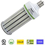 Dephen 150W LED Corn Light, Large Mogul E39 Base Led Corn Bulb, 5000K, 20250 Lumens, 1000W Incandescent Equivalent, Replacement for Metal Halide Bulb, HID, HPS