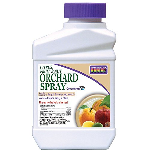 Organic Fruit Spray - Bonide Chemical 217 Citrus Fruit and Nut Orchard Spray Concentrate