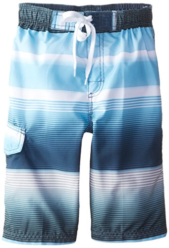 Kanu Surf Big Boys' Hydroflex Swim Trunks, Navy, Medium (10/12) by Kanu Surf