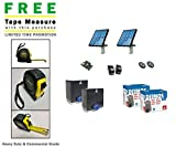 BFT Deimos BT Solar Slide Dual Gate System Kit & Includes A Free Heavy Duty FAS Tape Measure (Part# FAS-TMPROMO18)