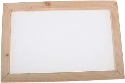 Cadre En Bois Mesh Moule Deckle 6 Pouces Avec Remplacement Mesh Pour Enfants Diy Papeti/ères Artisanats Fabrication De Papier Kit Papier En Bois Fabrication De Moules