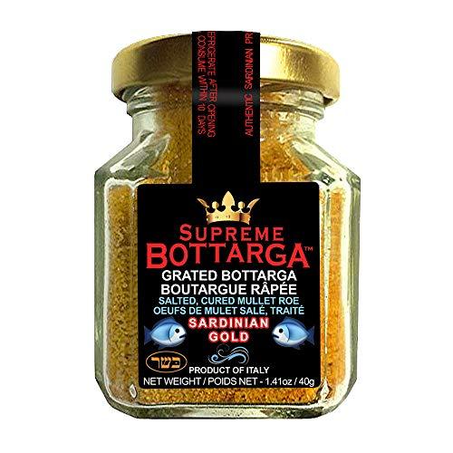 Kosher Caviar - Supreme Bottarga - Finest Imported Sardinian Grated Bottarga (Kosher)