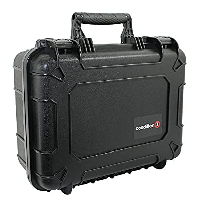 Image of Condition 1 18' Medium #801 Black Protective Case with DIY Customizable Foam Electronics & Gadgets