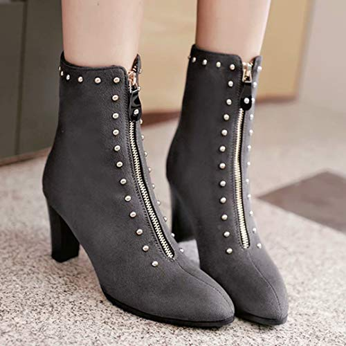 AIYOUMEI Classic Classic Women's Boot Women's AIYOUMEI Grey Boot Classic AIYOUMEI Women's Boot Grey rnBFrCqw
