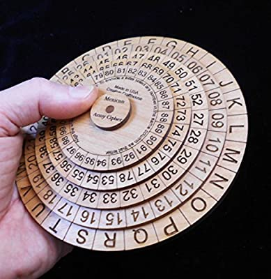 Mexican Army Cipher Disks - Historical, Powerful, Useful Encryption Machine