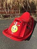 Dantoy Single Red Ladybird Kids Rocker Seesaw Indoor Outdoor Use Kids Garden Rocker