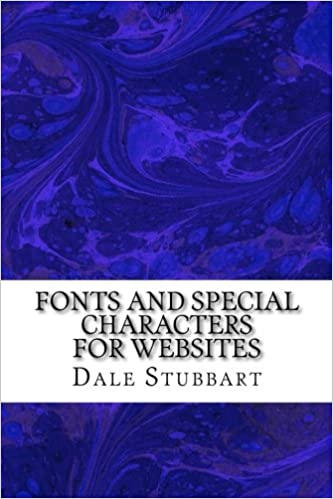 Fonts and Special Characters for Websites
