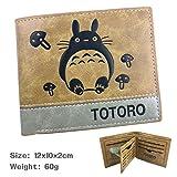 YOYOSHome Japanese Anime Cosplay Short Purse Wallet Clip Billfold (My Neighbor Totoro 2)