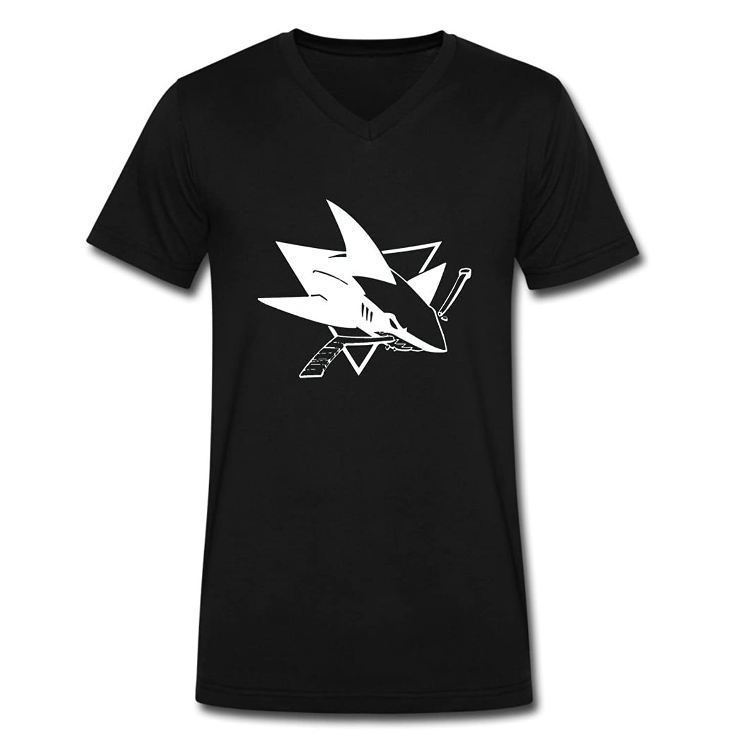 DIAOSI NICE 2016 San Jose Sharks tee shirt for men hoodieBlack XXL