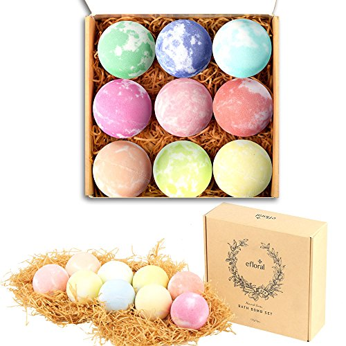 Chant Halloween Colors (Bath Bombs Gift Set Mixed Color Large Natural Organic Relax Bath Spa Bomb Kit for Women Men Children Fizzy Mild Super Nice Scents)