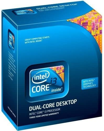 Intel Core i3-550 - Procesador (Intel® Core™ i3, 3,2 GHz, LGA 1156 ...