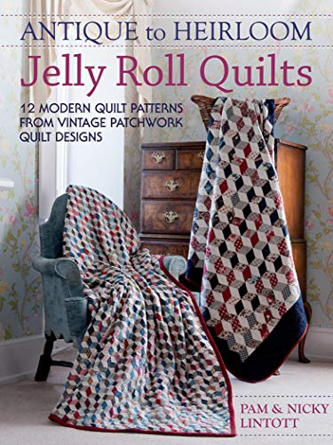 Quilt Pattern ~ PYRAMID TRIANGLES ~ Just One Jelly Roll Pattern The Quilt Room