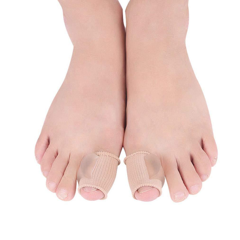 SUKEQ Bunion Corrector, Hallux Valgus Corrector Bunion Relief Sleeve Toe Separator StraightenersAid Surgery Treatmentfor Men Women
