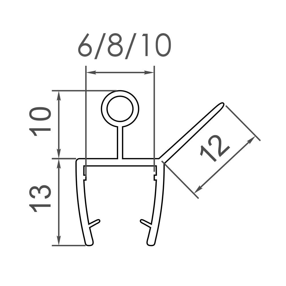 Schornstein 210 mm Klemmband breit /ø 150 mm MK sp Z o.o Beschichtung mit RAL-Farbe Anthrazit RAL-7016 Edelstahl
