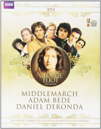 George Eliot Collection - 3-Disc Box Set ( Middlemarch / Adam Bede / Daniel Deronda ) [ Blu-Ray, Reg.A/B/C Import - Spain ]
