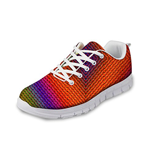 HUGS IDEA Y-HA005AQ - Zapatillas de Running Para Mujer Colorful 3