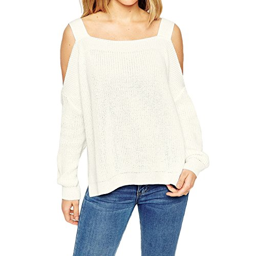 Irr Tricoter Eleery over Plain Manches Pulls Blouse Longues Tunique Femmes Pull xqvngY1qH