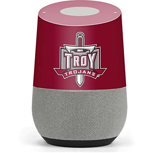 Troy University Google Home Skin - Troy University Red Vinyl Decal Skin For Your Home by Skinit