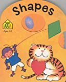 Shapes Spin Wheel Board Books, Antonine Poitier and School Zone Staff, 0887436188