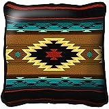 Southwest Geometric Turquoise Pillow