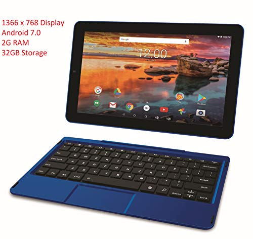 RCA 10 & 11.6 Inch Android Tablet with WiFi, Bluetooth, Keyb