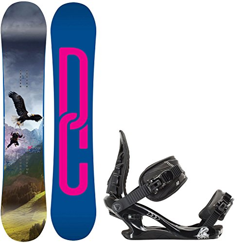 DC Biddy 151 Womens Snowboard + K2 Charm Bindings - Fits US Wms Boots Sizes: 6,7,8,9