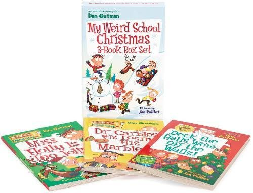My Weird School Christmas 3-Book Box Set: Miss Holly Is Too Jolly!, Dr. Carbles Is Losing His Marbles!, Deck the Halls, We're Off the (Pageant Set)