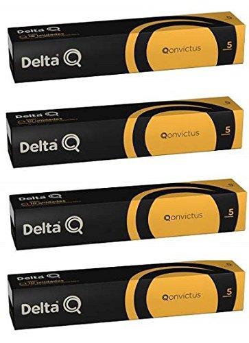 Delta Q Capsulas Qonvictus 40 Unidades: Amazon.es: Hogar