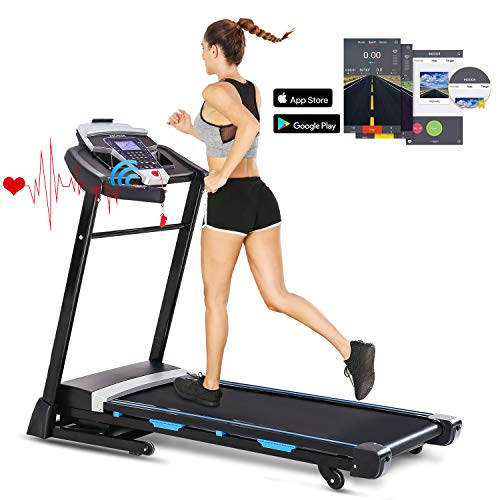 ANCHEER Folding Treadmill, 3.25H...