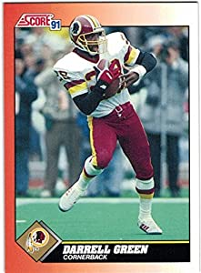 1991 Score & Rookie Traded Washington Redskins Team Set with Art Monk & Darrell Green - Super Bowl Champions - 24 Cards