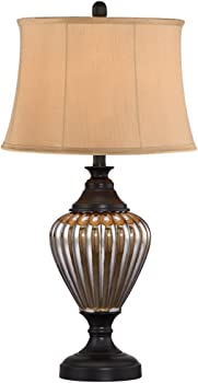 Barnes and Ivy James Mercury Fluted Font Table Lamp