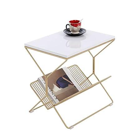 Folding table Nan Mesa de Centro de Hierro Forjado, Escritorio de ...