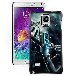 Fashionable Custom Designed Samsung Galaxy Note 4 N910A N910T N910P N910V N910R4 Phone Case With Robotics 3D Render_Black Phone Case