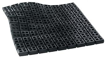 "Mason 18X18X3/4SWN Super W Neoprene Vibration Isolation Waffle Pad, 18"" Length x 18"" Width x 3/4"" Thick"