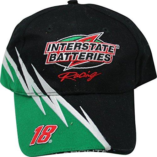 NASCAR Bobby Labonte #18 Interstate Batteries Vintage Hat Cap - Interstate Batteries Nascar