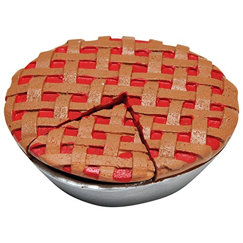 The Queen's Treasures Bakery Collection Cherry Pie Perfect for Aspiring 18 inch Doll Chef. Bake and Serve Up a Slice of Yummy Pie! Fits American Girl Doll Furniture and Play Kitchen Food Accessories