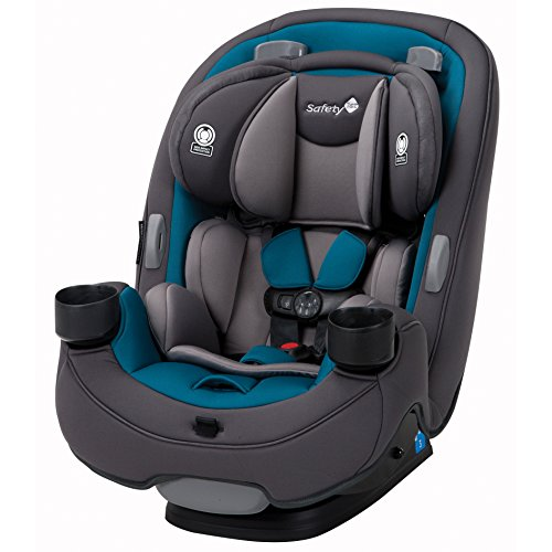Safety 1st Grow and Go 3-in-1 Convertible Car Seat, Blue Coral (Front Facing Baby Car Seats)